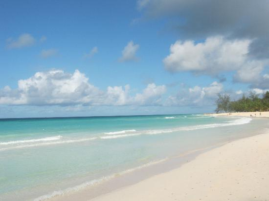 St Lawrence Gap, Barbados: Dover Beach Behind the 'Gap'