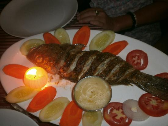 Mike's Place: Fresh fish