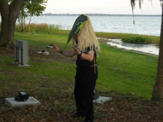 Floating Ghosts Seance Tour: The ghost of Seminole Indian Chief Billy Bowlegs