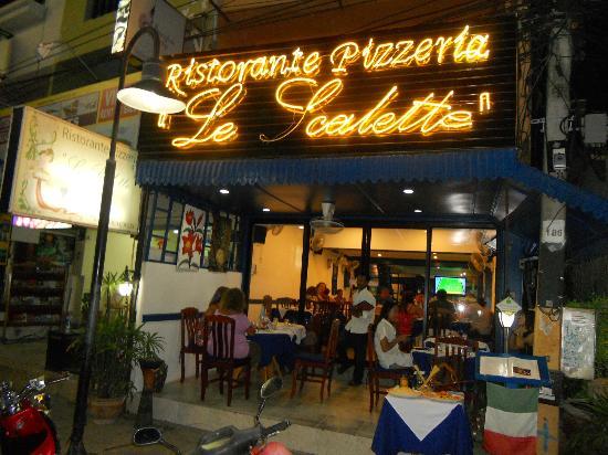 Le Scalette: Facciata del ristorante
