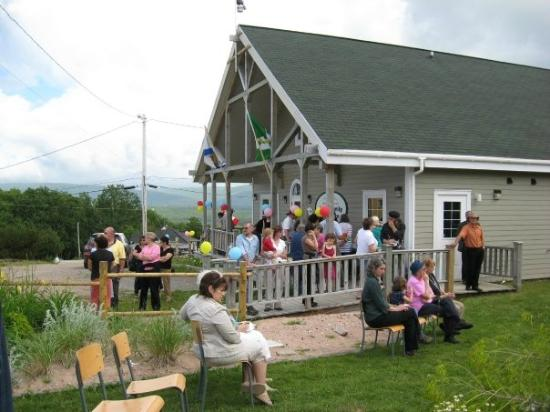 North Highlands Community Museum: Many visitors dropping in