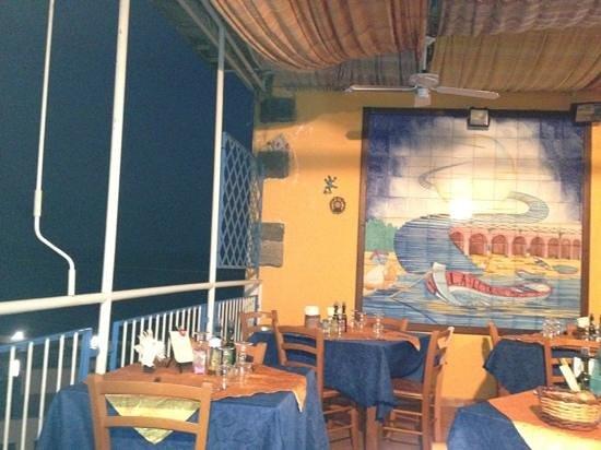 La Luna Sul Porto: Terrazza del locale