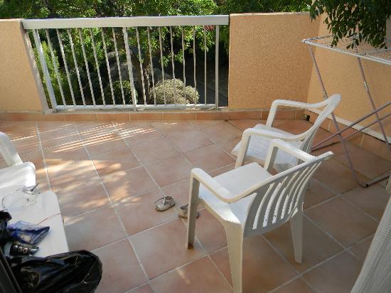 Residence le Parc Velusine : terrasse