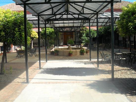 Hotel Hacienda la Laguna : vista desde la habitacion.