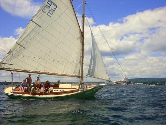 Rockland Sailing Co.: Watching the Friendship Sloop Races