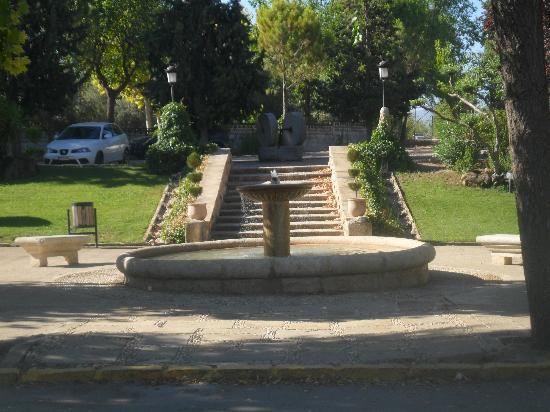 Hotel Hacienda la Laguna : La entrada al hotel