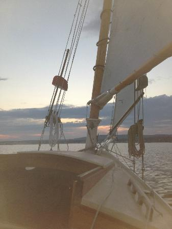 Rockland Sailing Co.: Sunset over Rockland