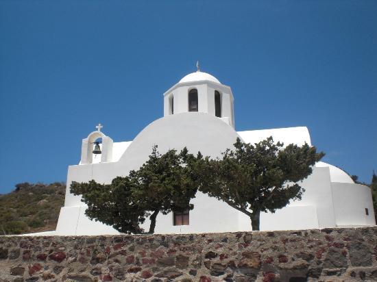Maria's Place: Kirche auf Santorini
