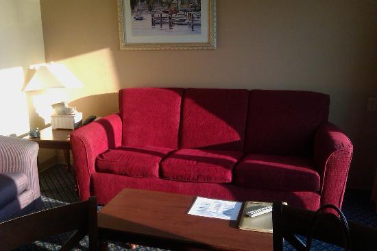 ويندام إن أون لونج وارف: Living Room 