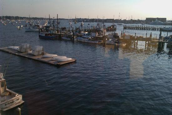 Wyndham Inn on Long Wharf: view from room