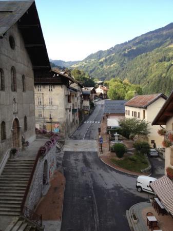 Restaurant du Grand-mont: vue de la fenetre