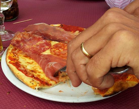 Villa romaine : La pizza du chef !
