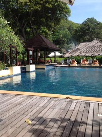 Le Vimarn Cottages & Spa: Piscine