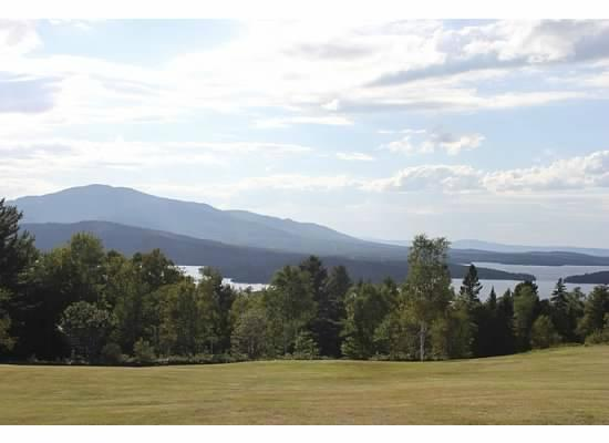 Wilson Pond Camps: View of Moosehead Lake from Greenville
