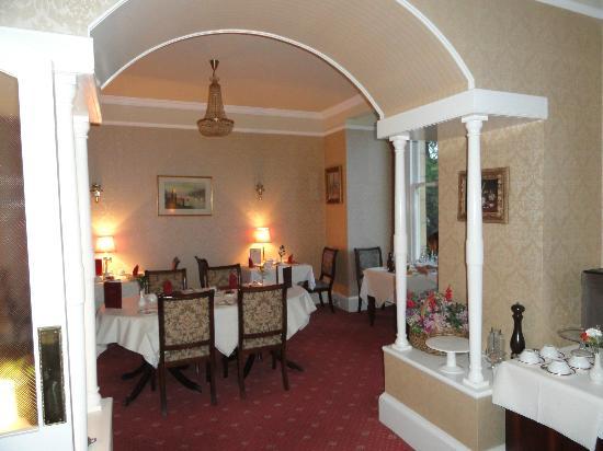 Sunbank House Hotel: La sala Ristorante Colazione