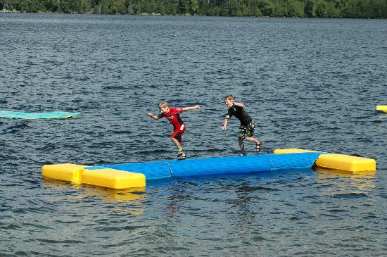 "Blue Moon Retreat: the ""wipeout"" log game"