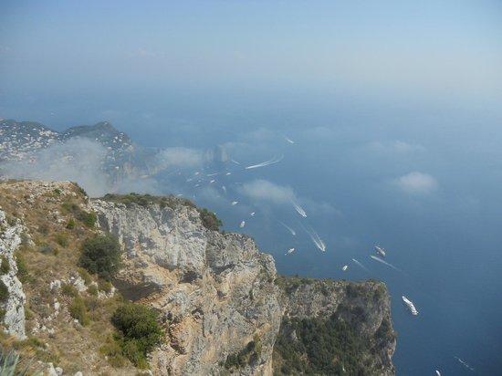 جراند هوتل باركو ديل سول: Top of Anacapri 