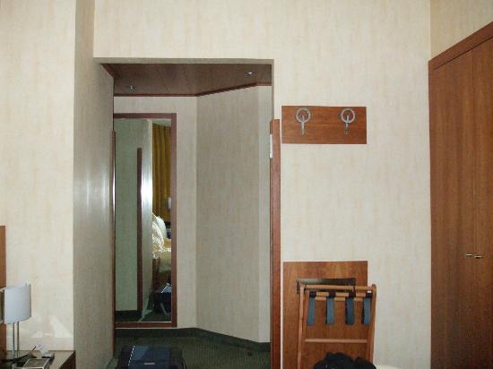 Hotel Delfino Lugano : La camera