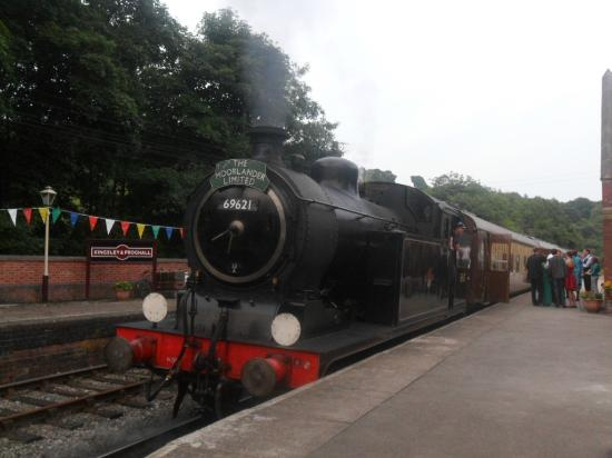 Churnet Valley Railway : Tank Engine waiting to depart from Kingsley & Froghall station