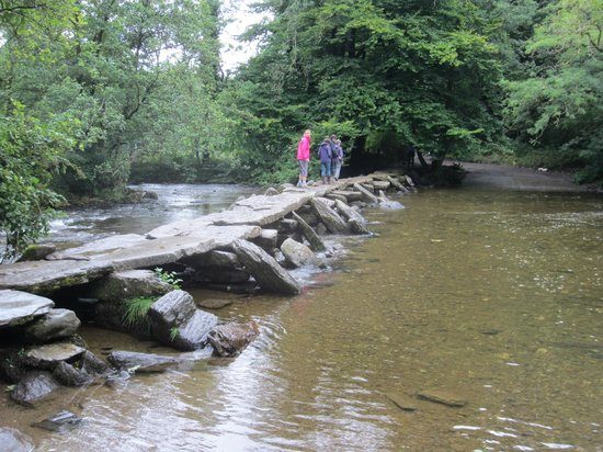 Exmoor National Park, UK : Tarr Steps