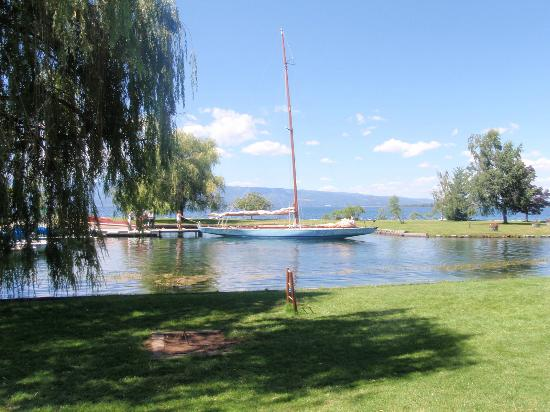 Averill's Flathead Lake Lodge: Sailing available on Flathead Lake