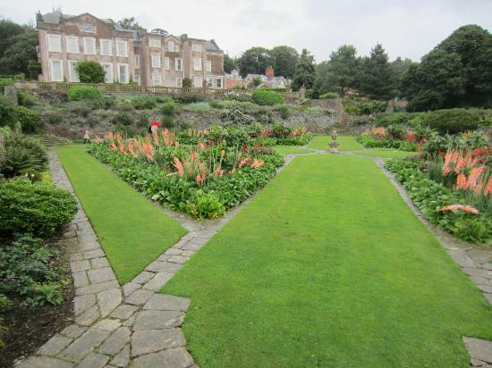 Taunton, UK: The Main Garden