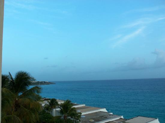 Sapphire Beach Club Resort: View from living room at Sapphire Beach Club.