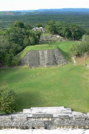 La Beliza Resort: the view from the top of Xunantunich, Mayan ruin. Amazing vista.