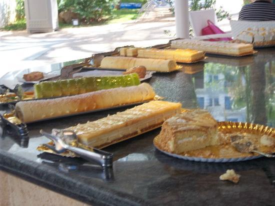 Protur Palmeras Playa: afternoon coffee x cake!!!!!!