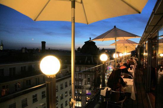 Settimo Cielo: Speisen mit Wienblick
