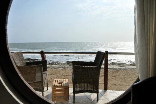 Beach Lodge Swakopmund: Luxury room view