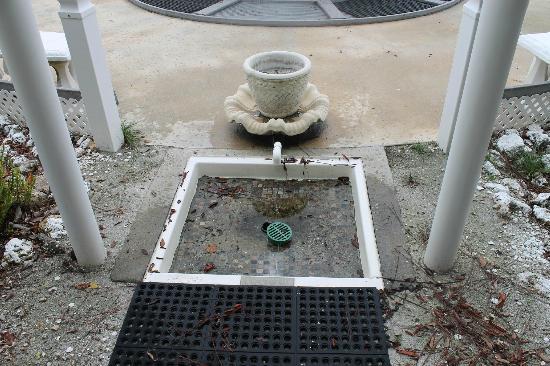 Pyramids in Florida: la douche pour le jacuzzi
