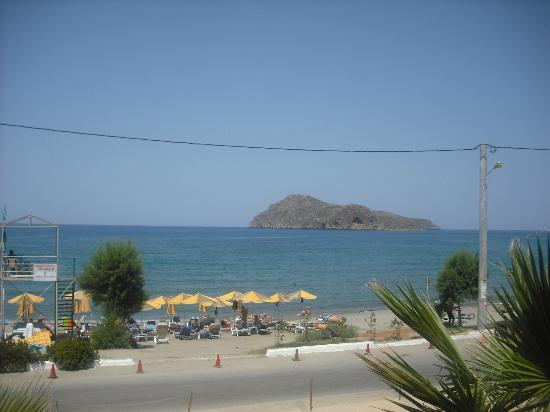 Porto Platanias Beach Resort & Spa: View from room 203