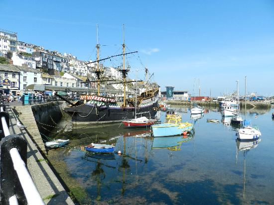 Churchills Fish and Chips: Beautiful Brixham