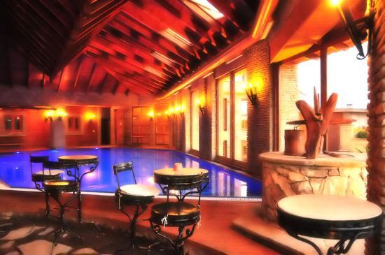 Chateau Rexhekri: Indoor pool.
