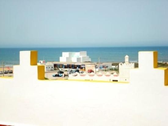 Auberge de la Plage : panorama dalla terrazza2