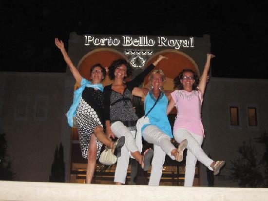 Atlantica Porto Bello Royal: Le fantastiche 4