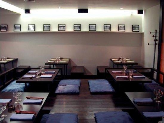 Marou : la salle de restaurant principale