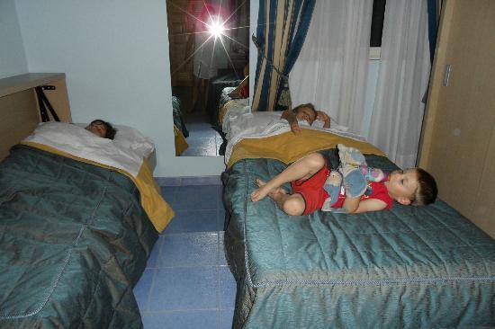 Hotel Fiera Rho: lit enfant