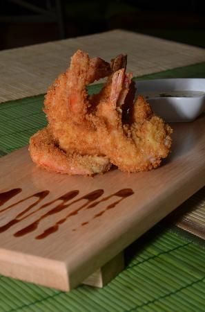 Sakura Sushi : panko shrimp