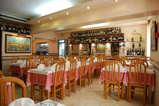 Restaurante Reis: Sala