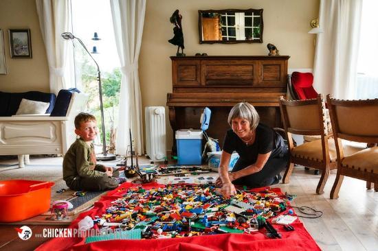 Anne Gerd's Lofoten: Ein Sack voll Lego macht meinen Sohn glücklich