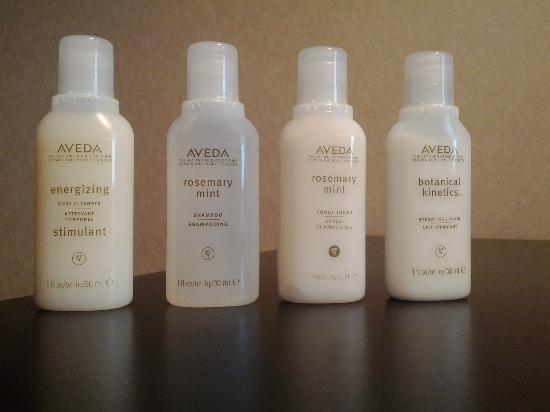 Monastery Spa & Suites: Aveda Amenities