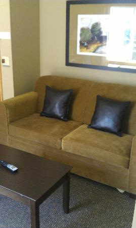 La Quinta Inn & Suites Eugene: Sofa bed in living area