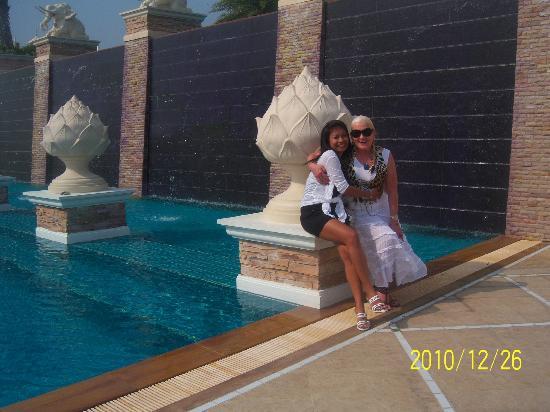 Grand Pacific Sovereign Resort & Spa: schoondochter bezoekt ons in het hotel
