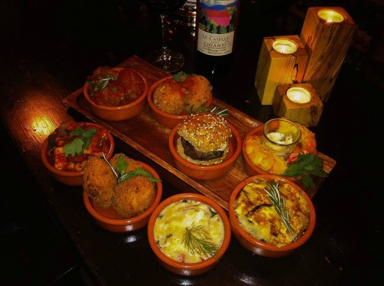D'Vine: Some of our tapas!
