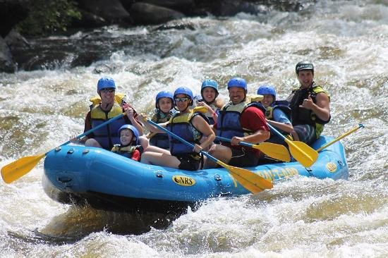 Appalachian Outdoors Whitewater Rafting: Our Ride