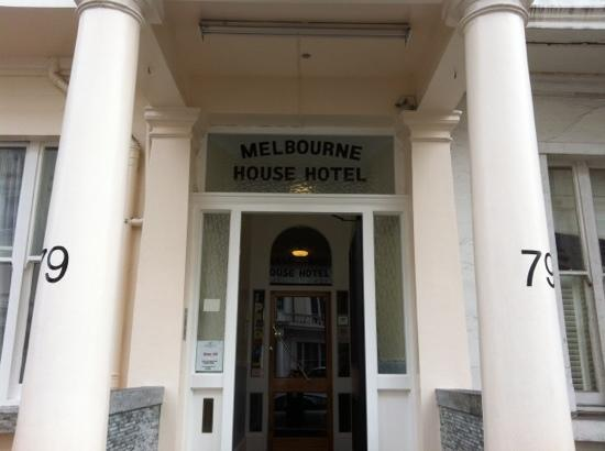 Melbourne House Hotel: Ingresso