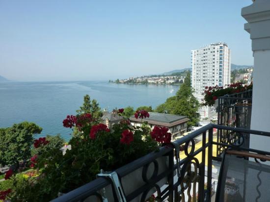 Grand Hotel Suisse Majestic: vista desde la habitación