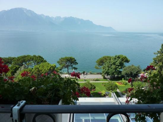 Grand Hotel Suisse Majestic: vista al lago